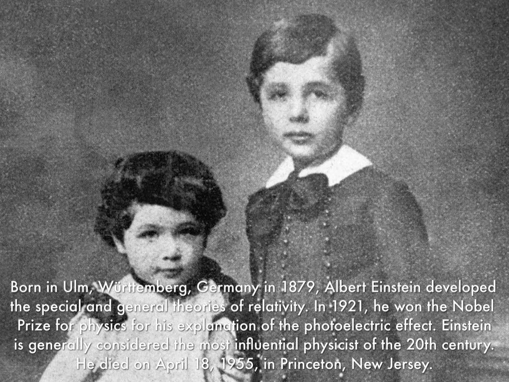 Albert Einstein Biography - life, story, wife, school ...