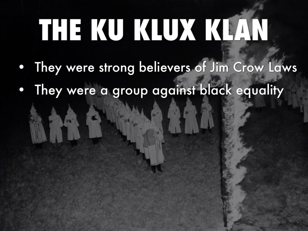 Jim Crow Laws By Kate Pittman