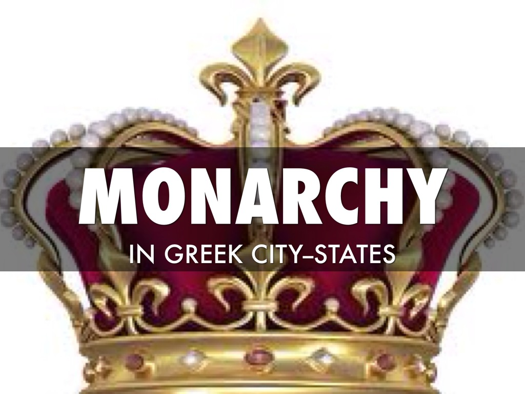 monarchy in ancient greece