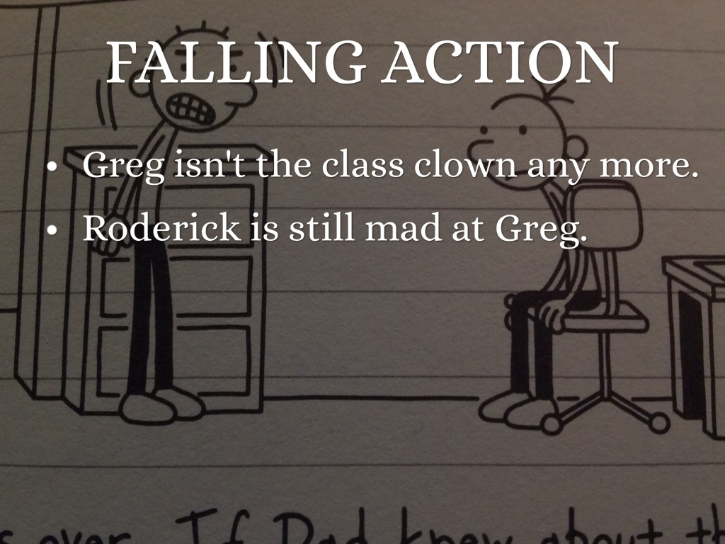 Diary Wimpy Kid Falling Action