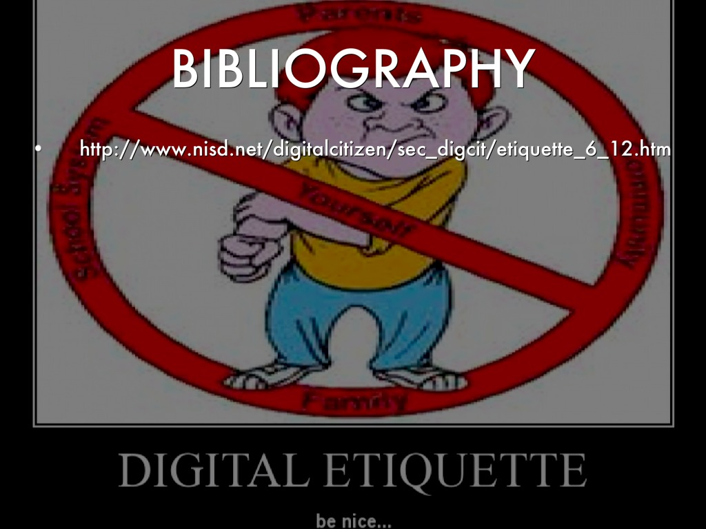 digital etiquette by cecily