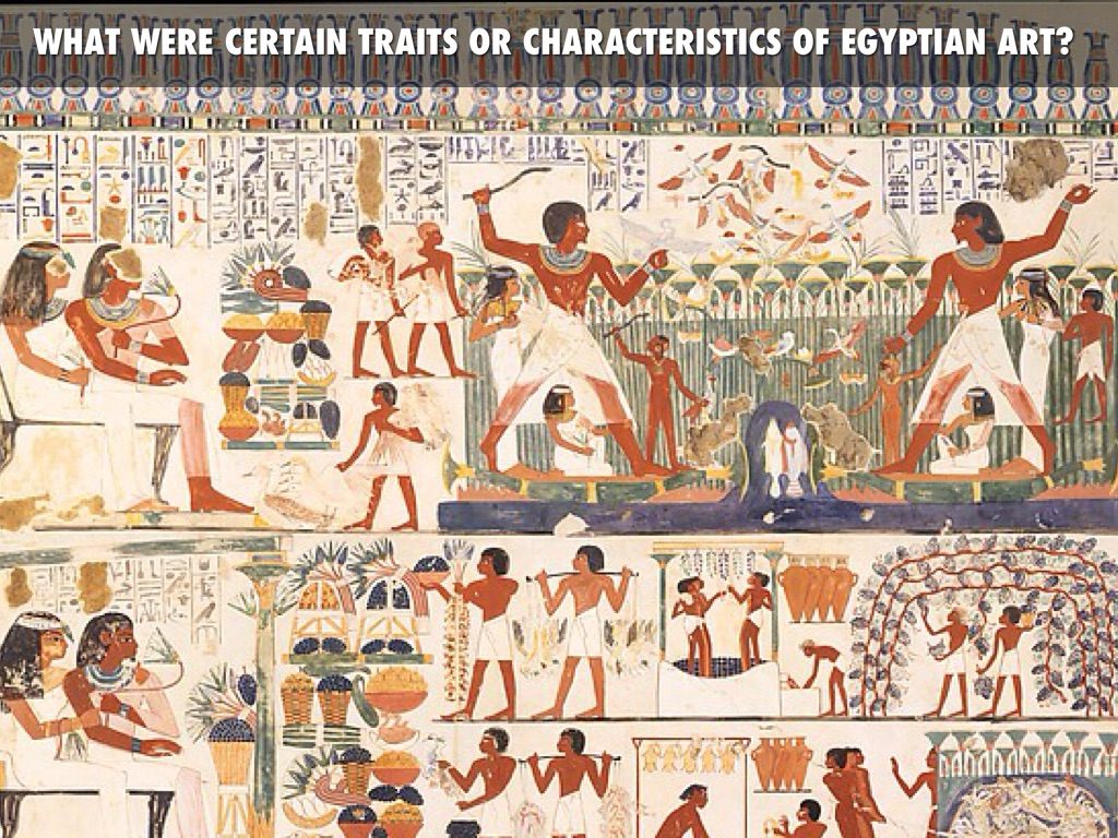 main characteristics egyptian art
