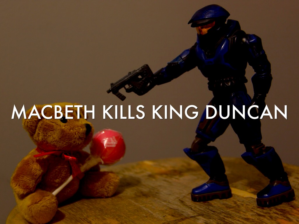 macbeth kills duncan essay