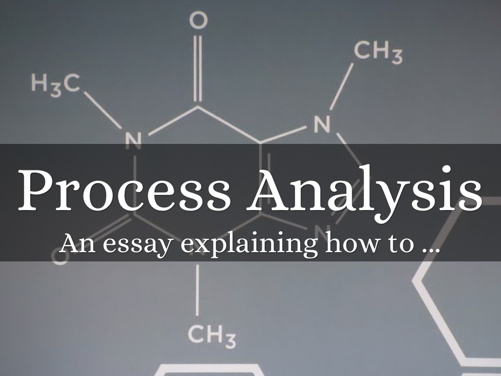 the process essay The process essay the requirements of this essay are as follows: 1 in this essay you will write about something that a friend or relative taught you to do in telling the story of how you learned to do this process, you will be teaching the reader how to do it as well.