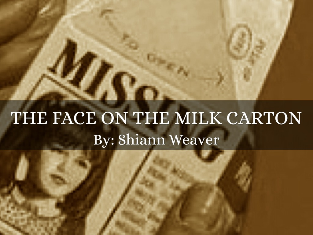 the face on the milk carton 2018-8-15 immediately download the the face on the milk carton summary, chapter-by-chapter analysis, book notes, essays, quotes, character descriptions, lesson plans, and more - everything you need for studying or teaching the face on the milk carton.