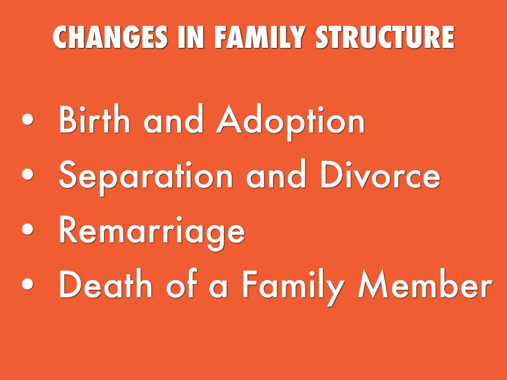 how divorce affects bahamian family structure The chart below gives a picture of how many children have been affected by changes in family structure over the past fifty years, changes in the levels of belongingness and the levels of rejection.