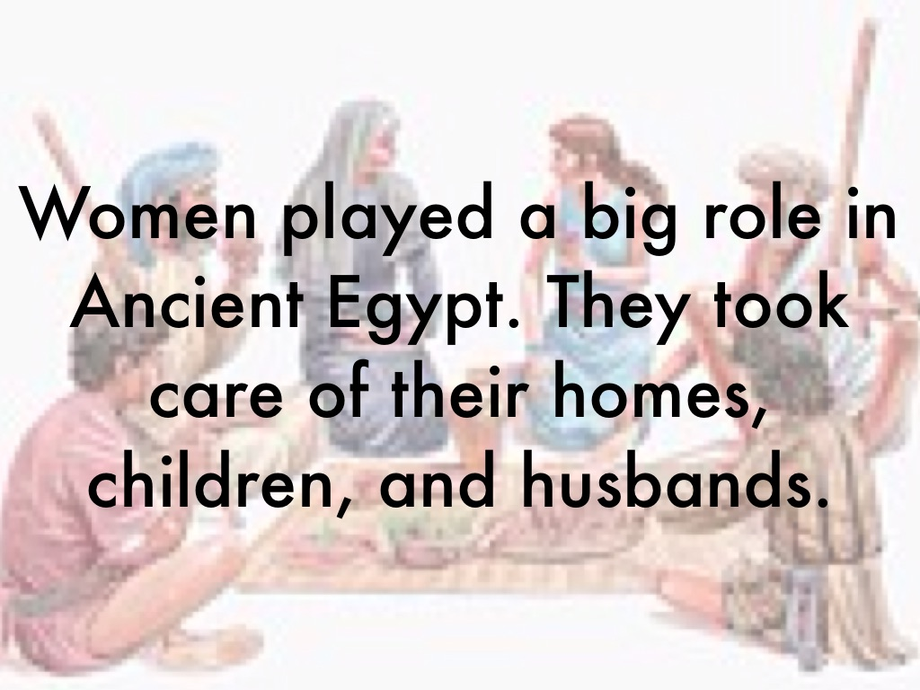The Role Of Women In Ancient Egypt By Maha Ali-9095