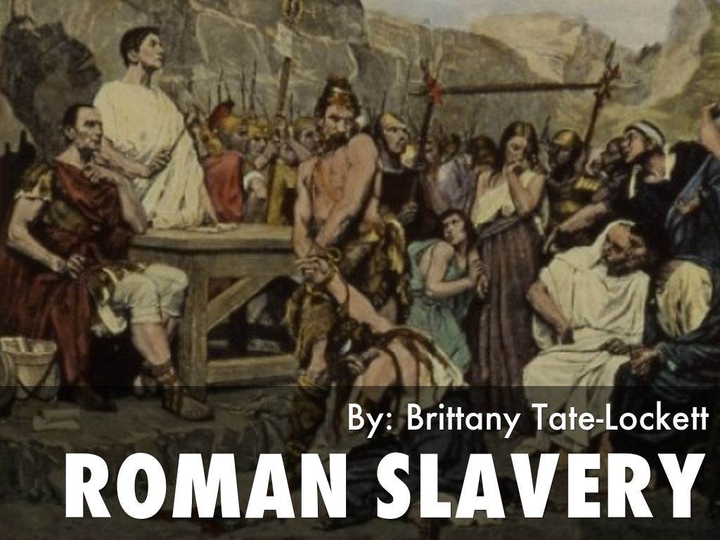 the value of ancient roman slaves