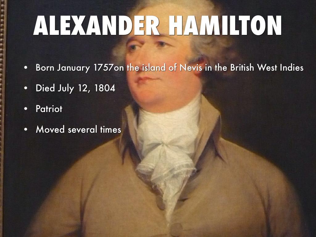 alexander hamilton by emily chumley