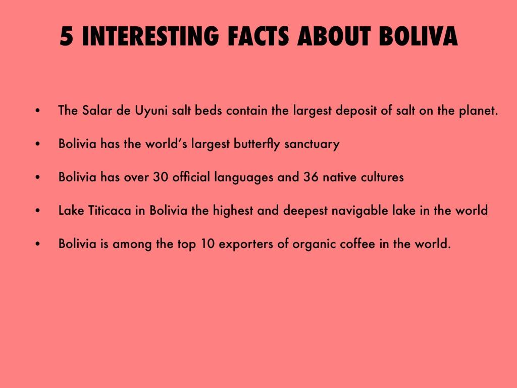 Bolivia By Sami Caulkins