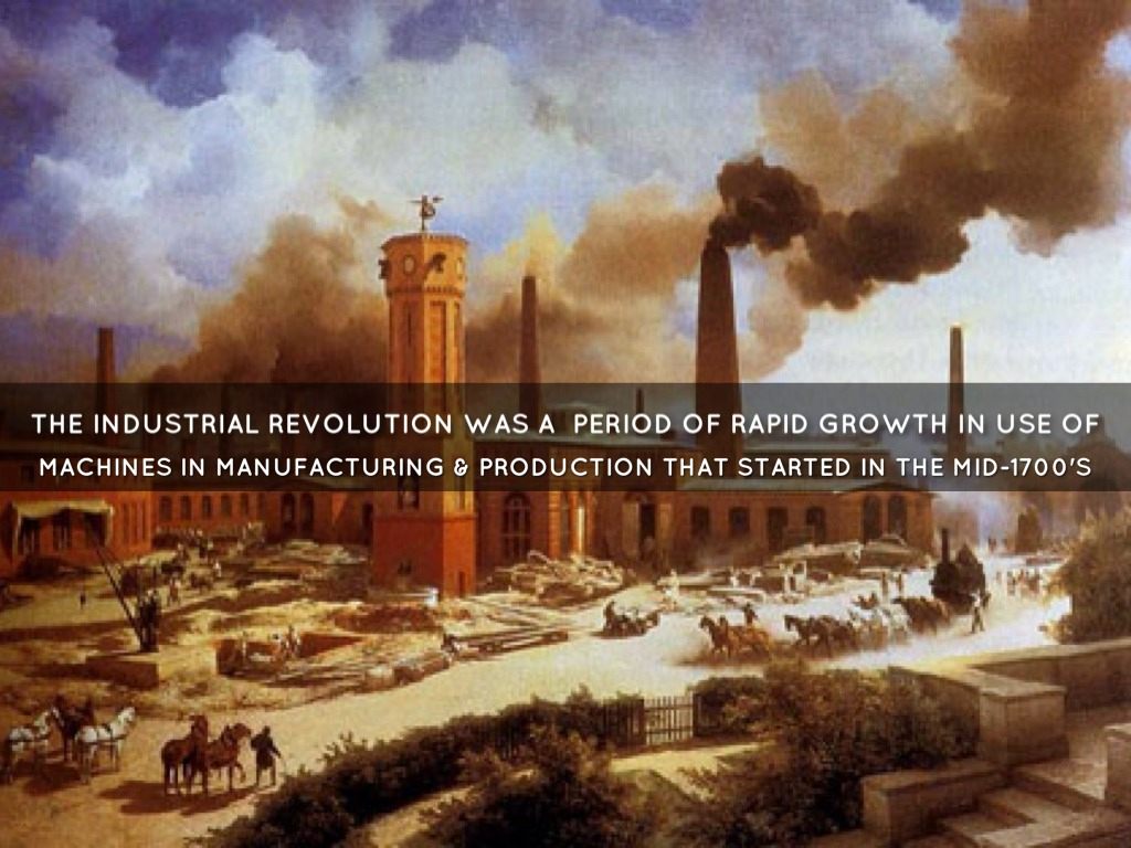 essays on american industrial revolution The industrial revolution was a series of 1950s essays by is considered by some as a major contributor to the success of the american industrial revolution.