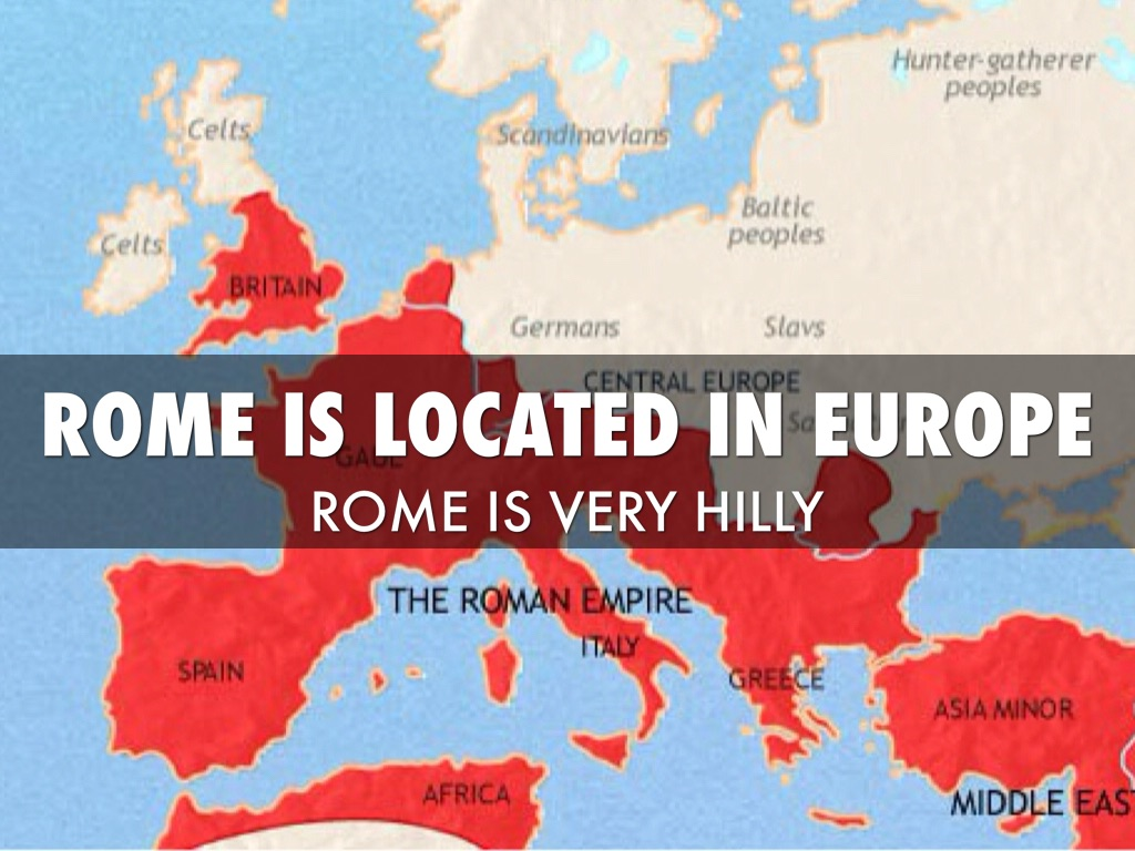 Ancient Rome By Matteo H - Where is rome