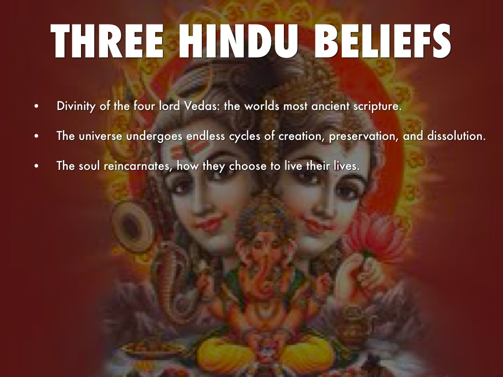 The three hindu beliefs on marriage