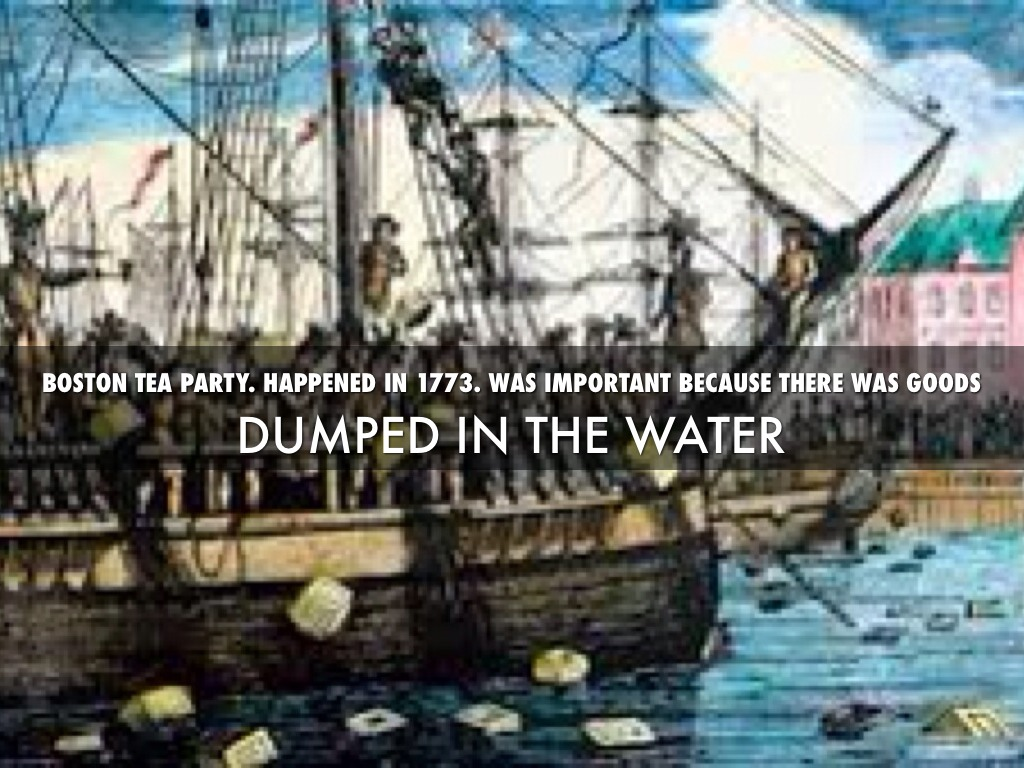 an analysis of the boston tea party