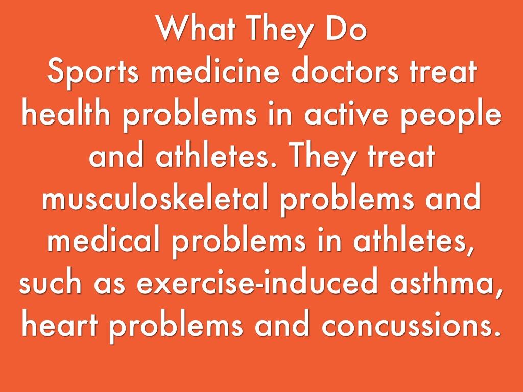 Sports Medicine by Nick Schlagel