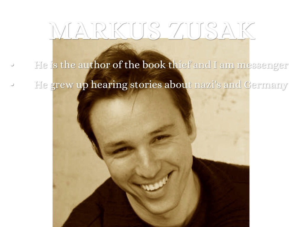 irony in markus zusak s the messenger Markus zusak he is the author of the book thief and i am messenger he grew up hearing stories about nazi's and germany.