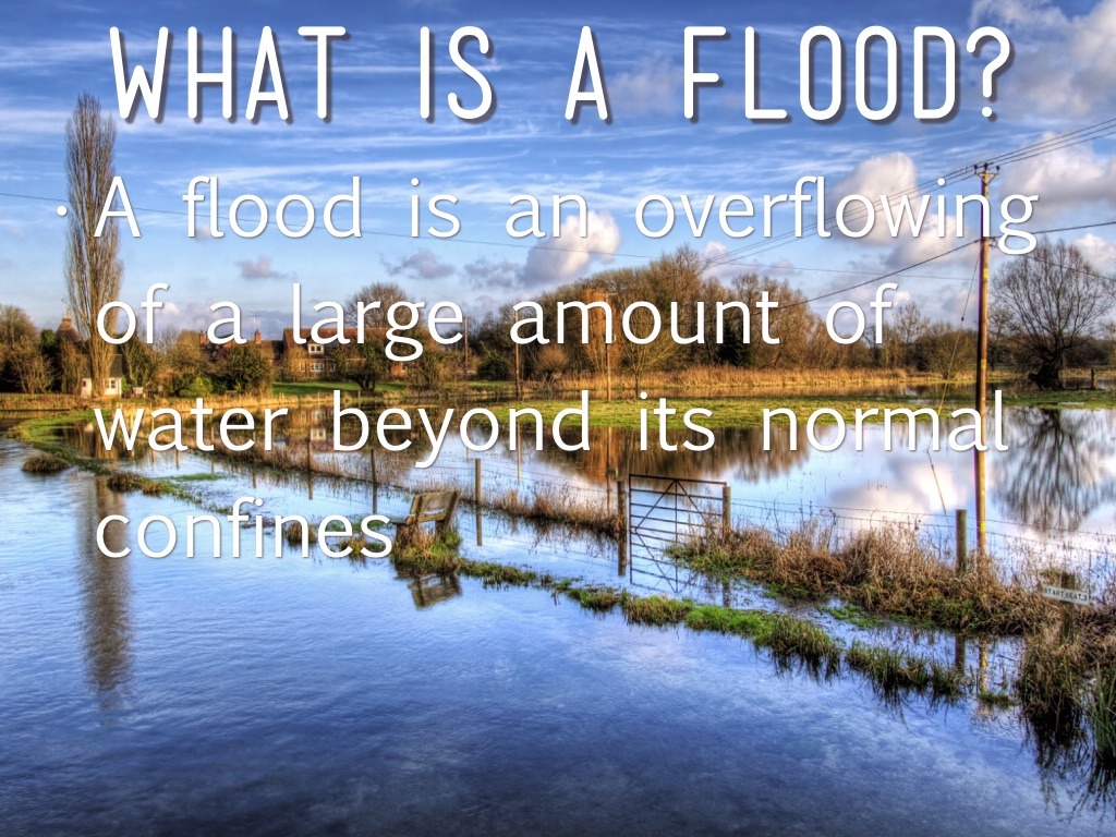What is a flood 56