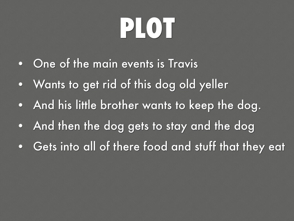 Old yeller plot summary