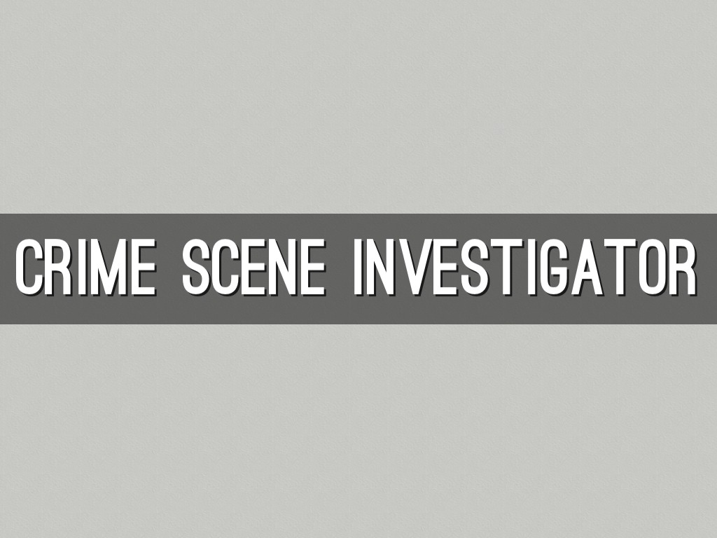 becoming a crime scene technician essay Earn a certificate in crime scene investigation don't have a science degree and are looking for an alternative path to becoming a crime scene investigator.
