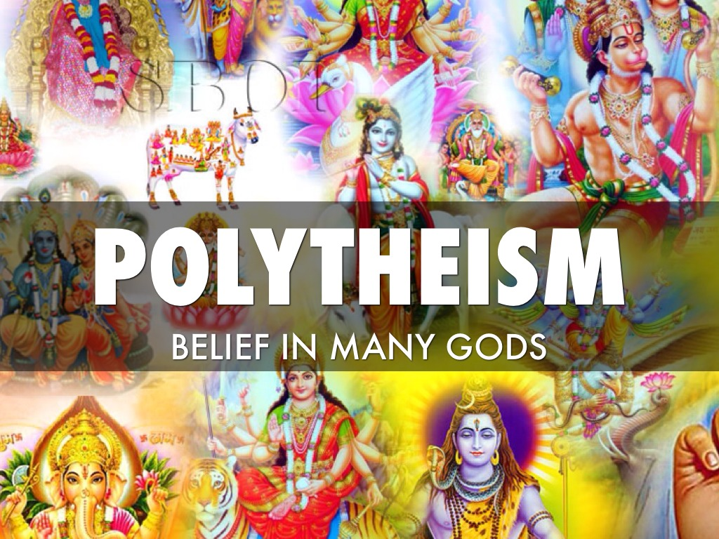 the different examples of polytheistic and monotheistic beliefs Many fantasy worlds (for instance the elder scrolls' tamriel) and also ancient civilizations have/had polytheistic cults to the point where the same holy place would be shared among different, even.