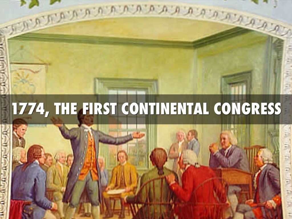 an analysis of the continental congress introduced on a new form of the government as it instituted  Continental congress,  , when the articles of confederation that established a new national government for the united states took effect.
