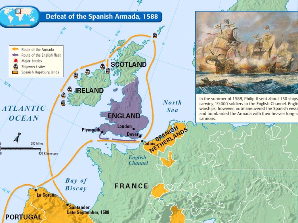 Image of: The Spanish Armada By Cole Doherty