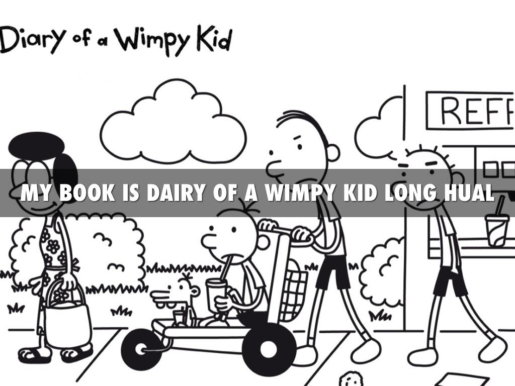 Dairy Of A Wimpy Kid By Preston Rasnick