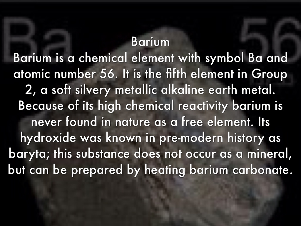 5 elements by sj reyes barium is a chemical element with symbol ba and atomic number 56 it is the fifth element in group 2 a soft silvery metallic alkaline earth metal biocorpaavc Images