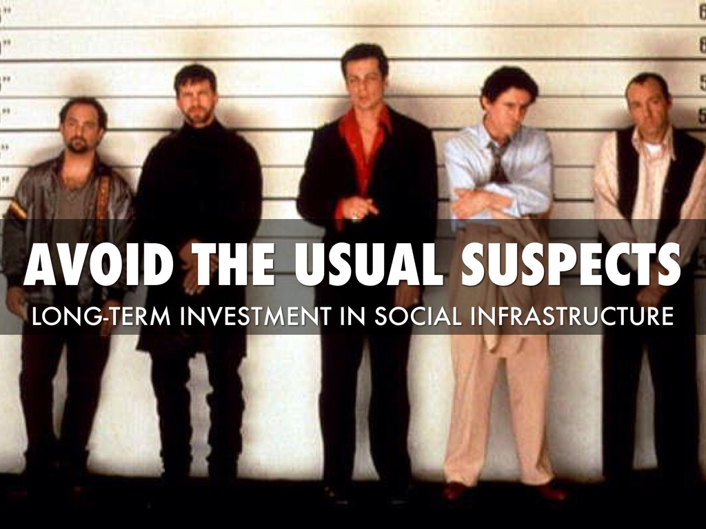 Avoid the usual suspects
