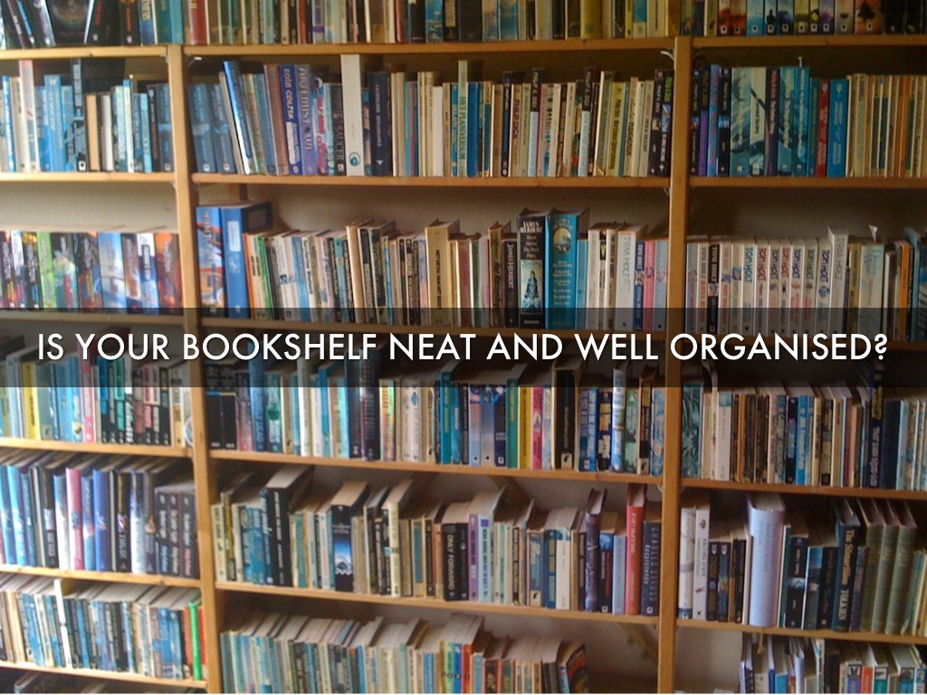 Is Your Bookshelf Colour Coded