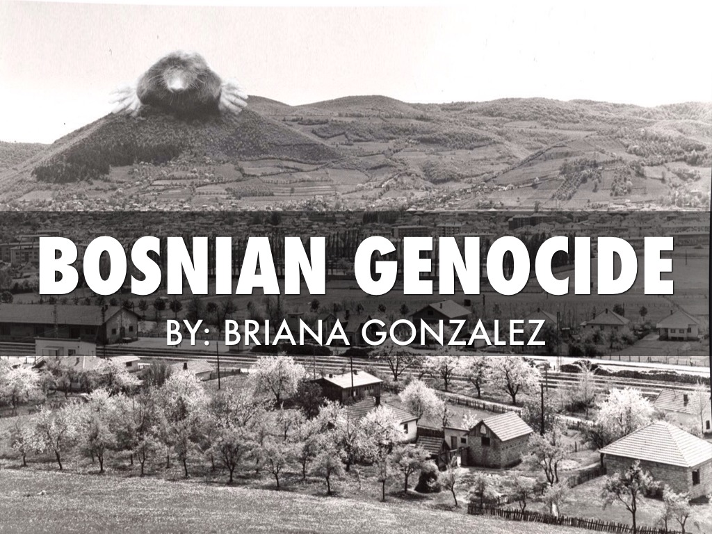 bosnian genocide failure of the west essay Bosnian genocide the end of the cold and 14 percent croats bosnia is slightly smaller than west the defeat of the bosnian serb forces led to the realization.