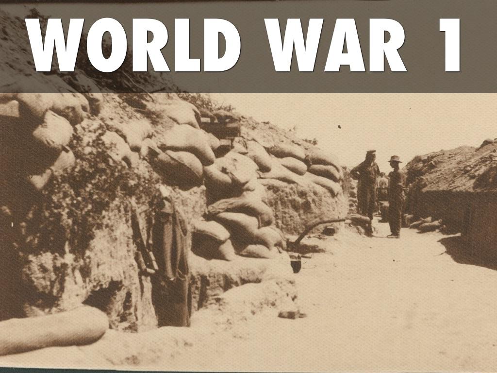 World War 1 Project By Aaron Sherrill