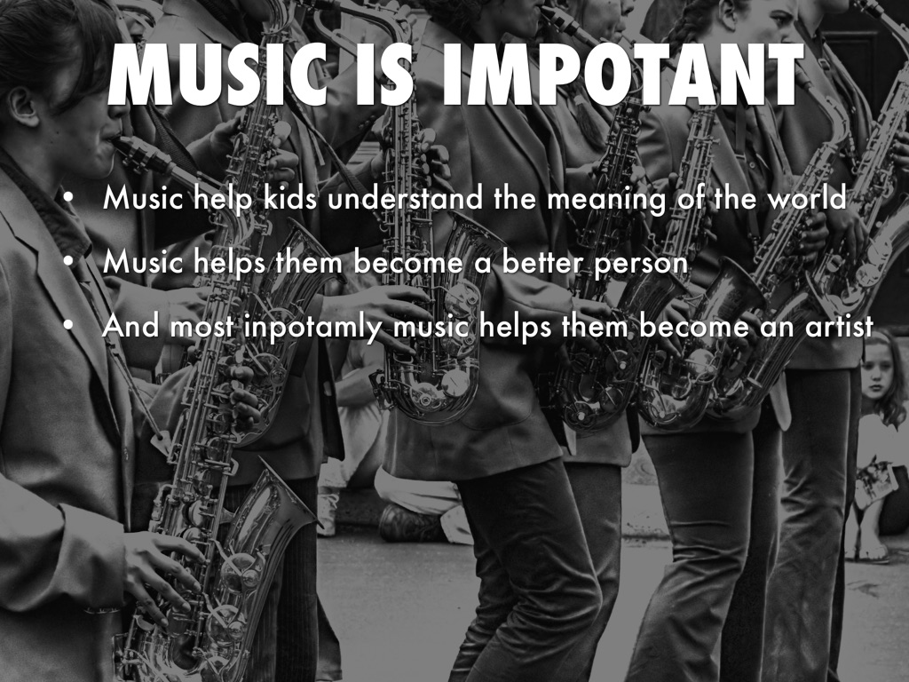 how can music help kids understand