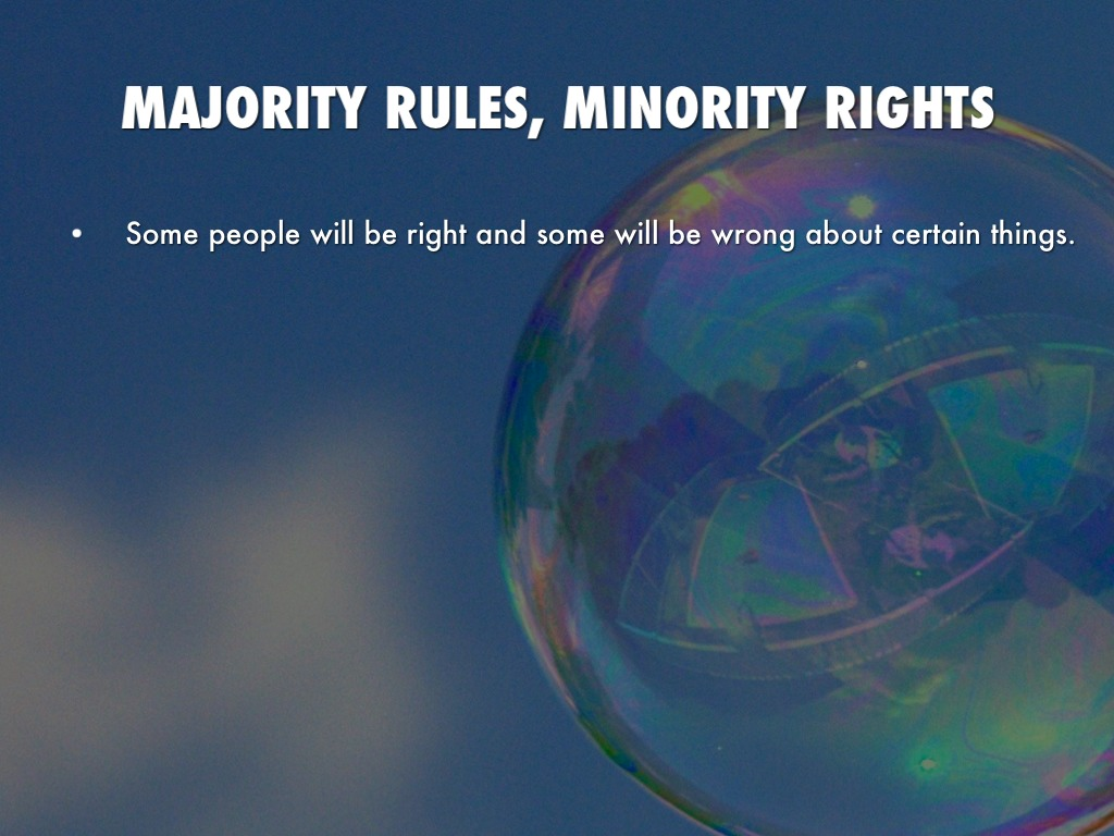 majority rules and minority rights In his column earlier this month in the bulletin, 9th district rep morgan griffith expressed his frustration at the senate's filibuster/cloture rule.