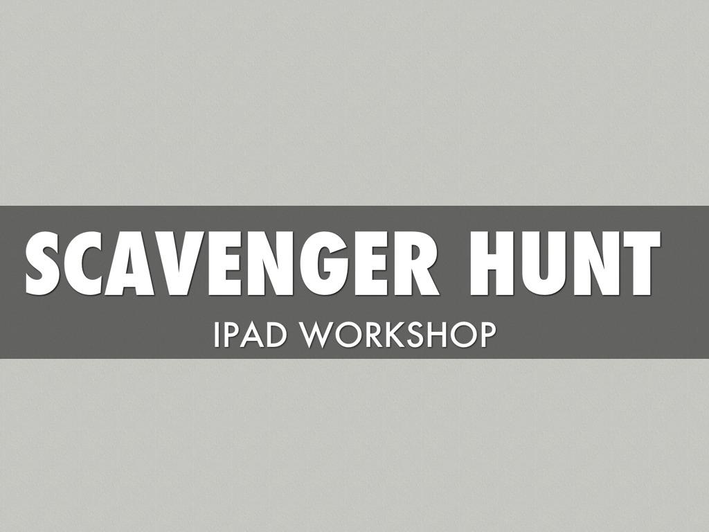 iPad Workshop