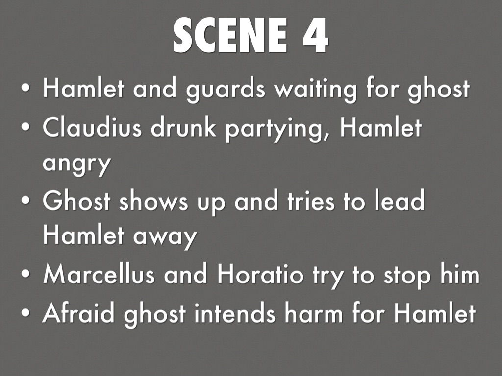 essay on act 3 scene 4 of hamlet Act 3 scene 4 of hamlet act 3 scene 4, so called the closet scene, is the first time  we see hamlet and gertrude together alone in this scene hamlet releases his.