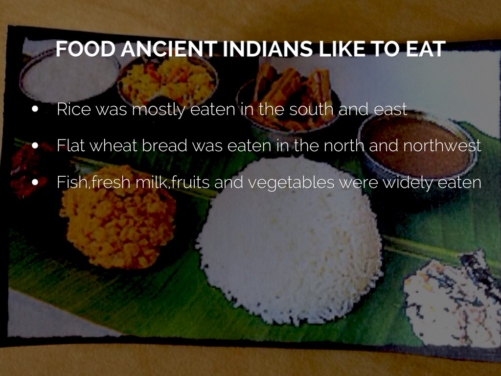 Ancient india by sally khan for Ancient indian cuisine