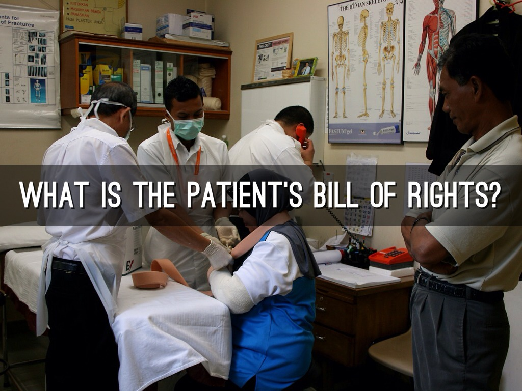 a patients bill of rights Baptist health believes it's important for you to take an active part in your healthcare that's why we've provided you with this list of patient rights and.