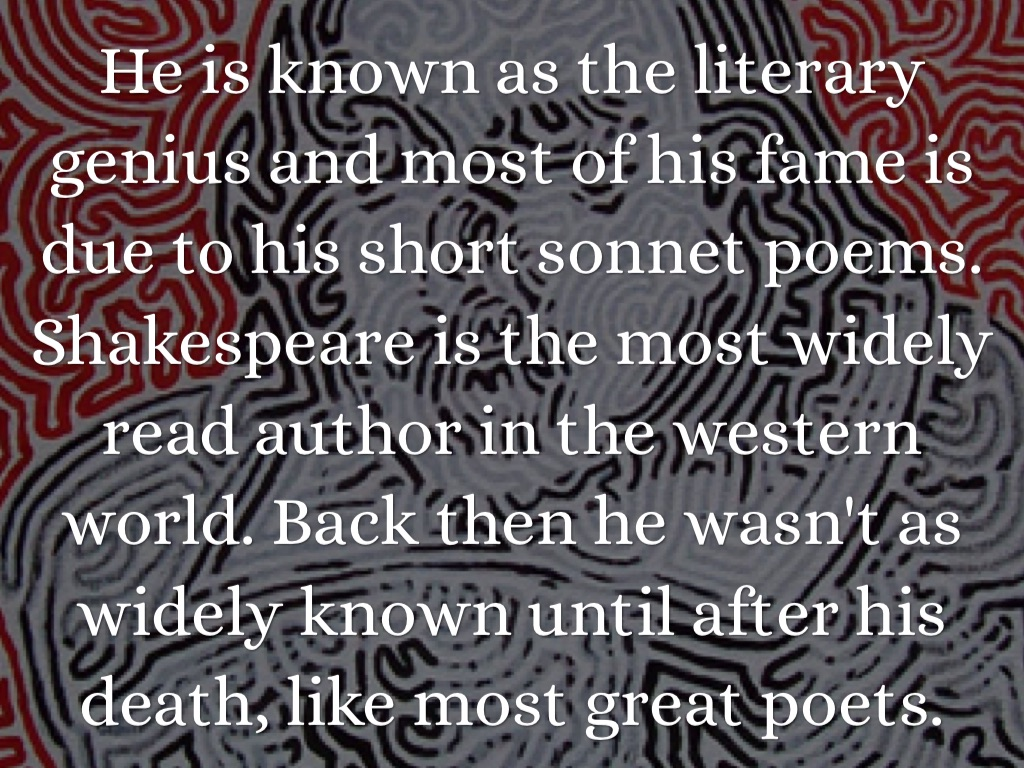 poems by shakespeare about death