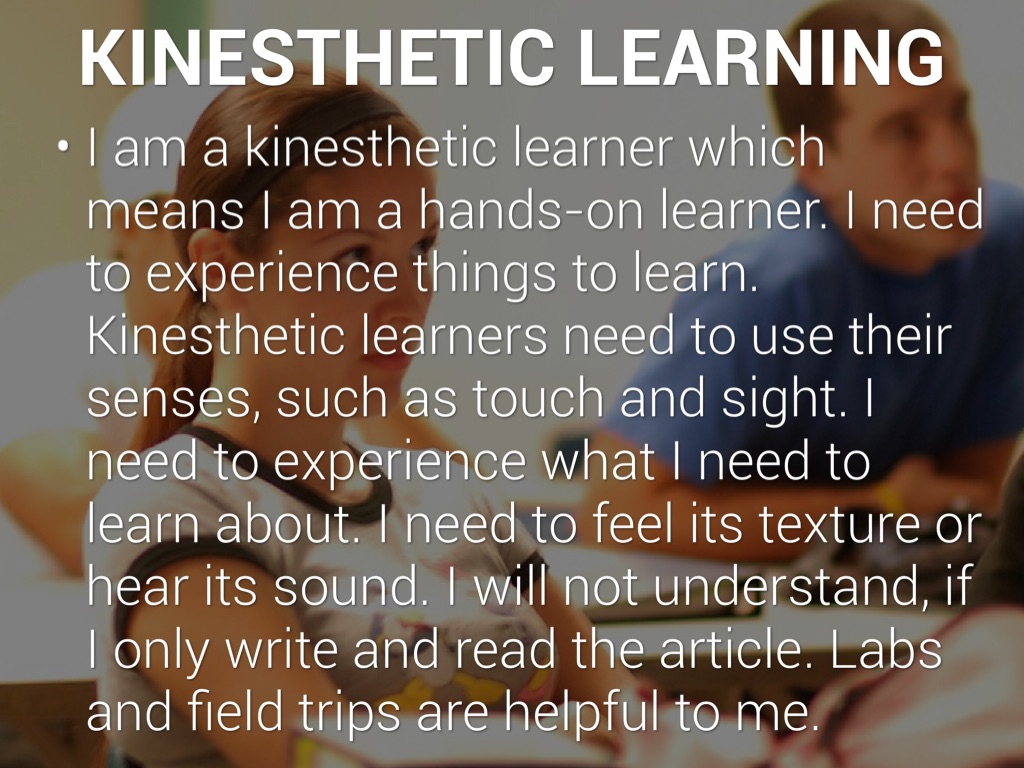 kinesthetic learner