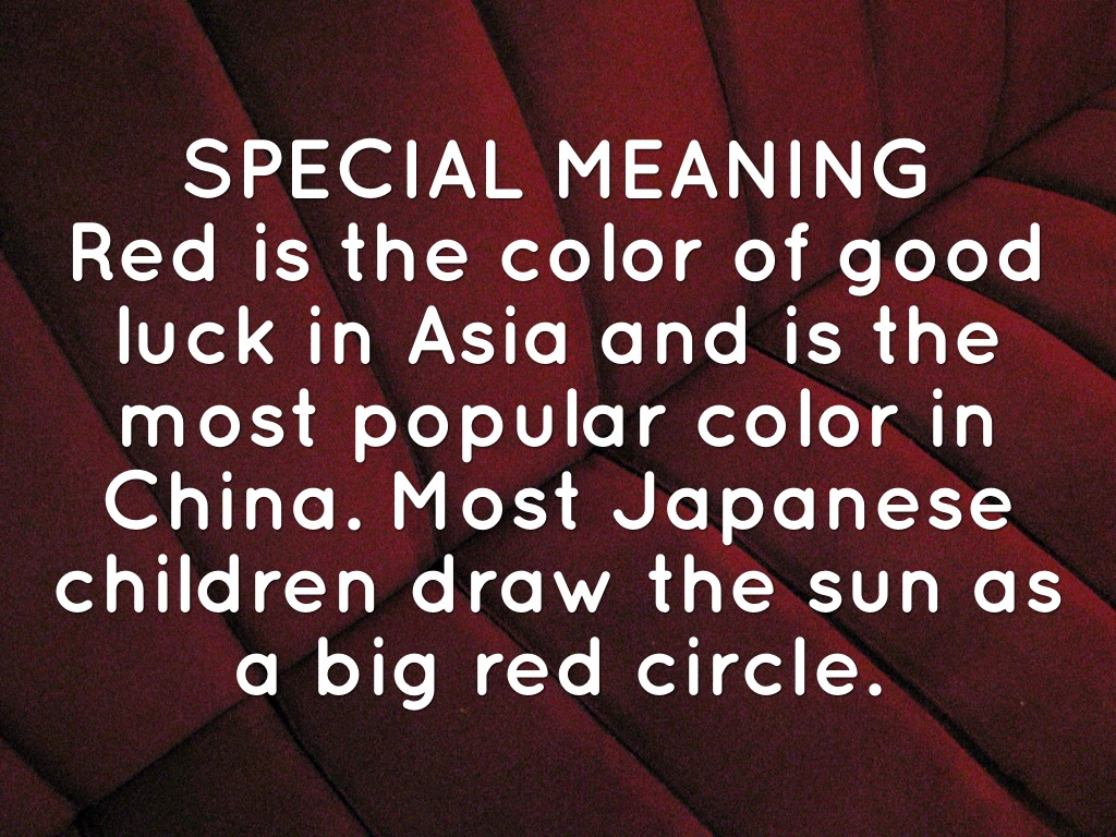 What Does The Colour Black Mean In China meaning of colors in china ...