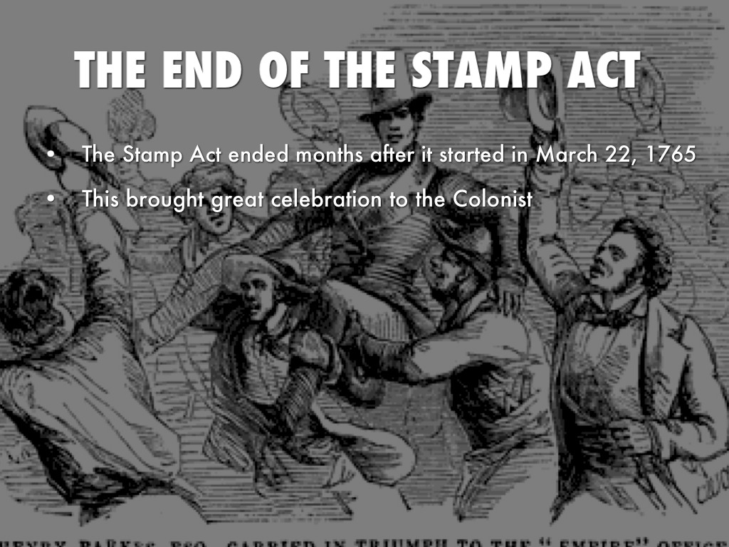 The Stamp And Quartering Act By IPad4