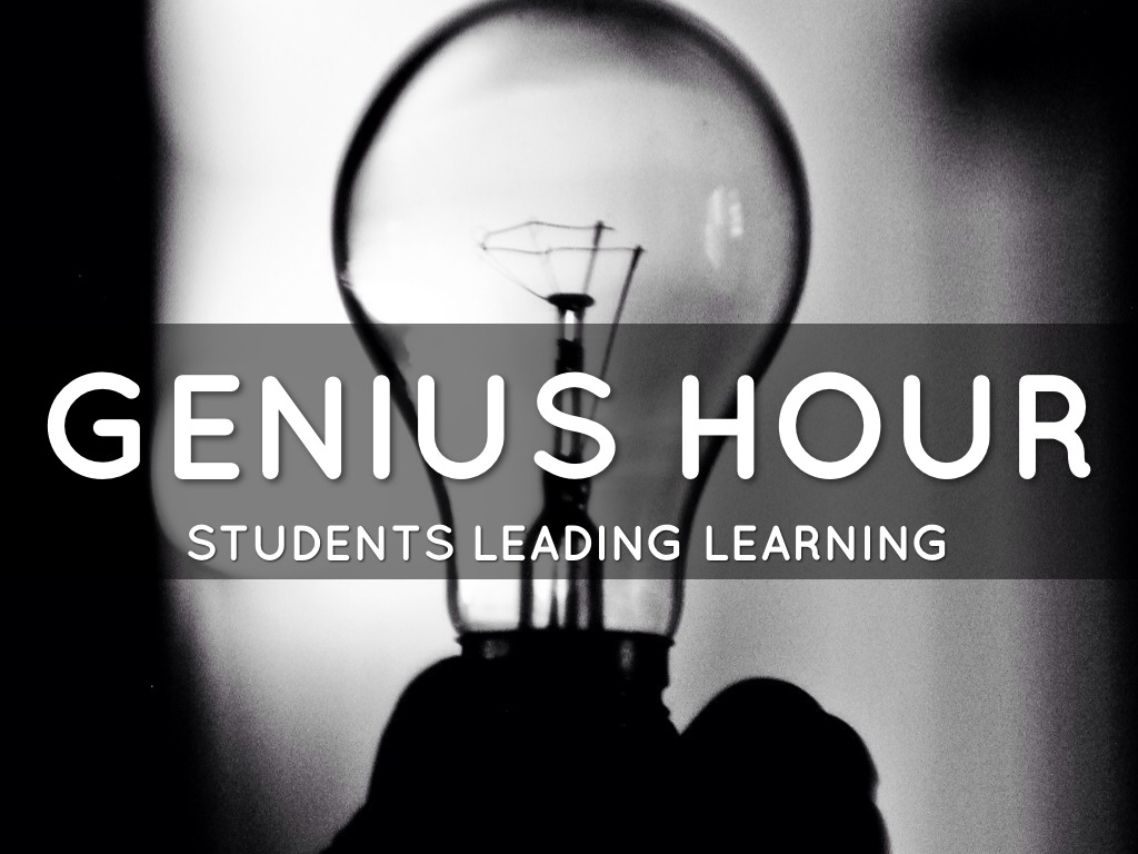 Image result for genius hour