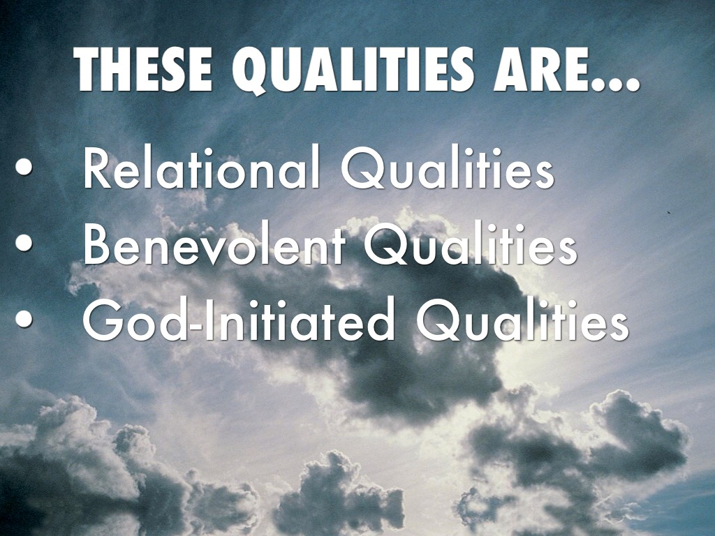 the description of god Definition of god : catalogue and list of divine titles of god divine qualities that each member of the godhead share as equal members of the trinity.