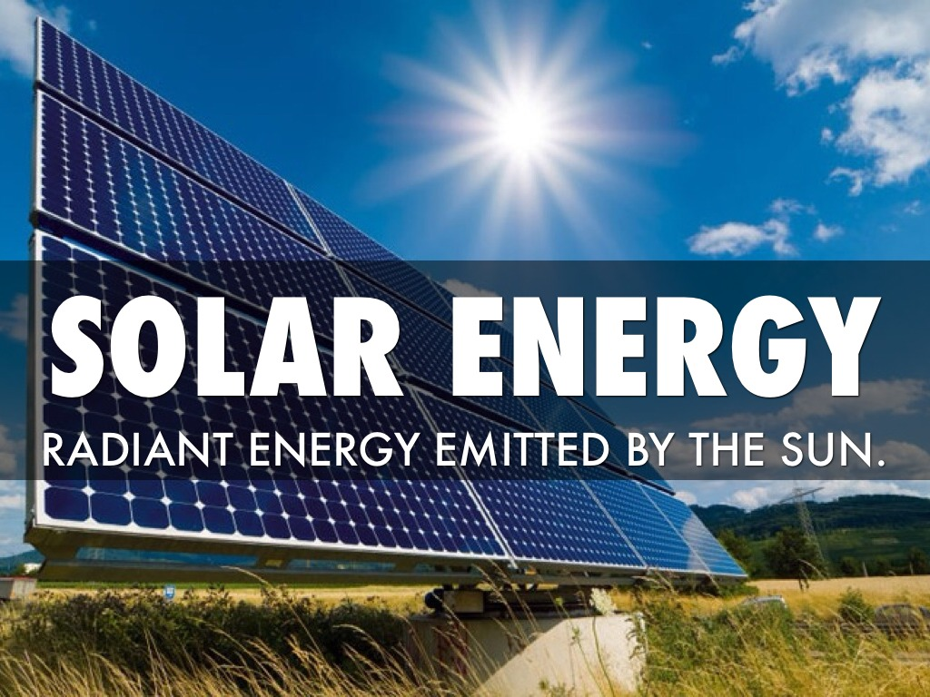 Solar Energy By Alyssa Marshall