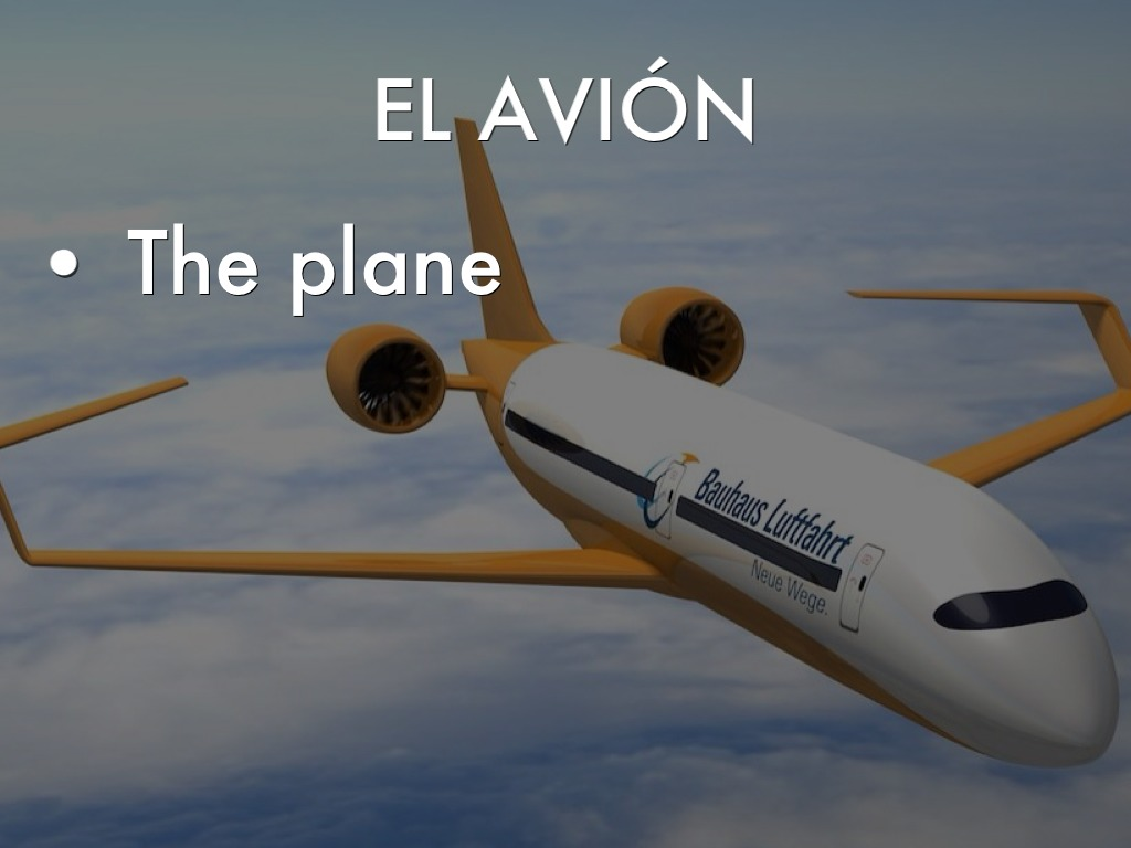 what is avion in spanish