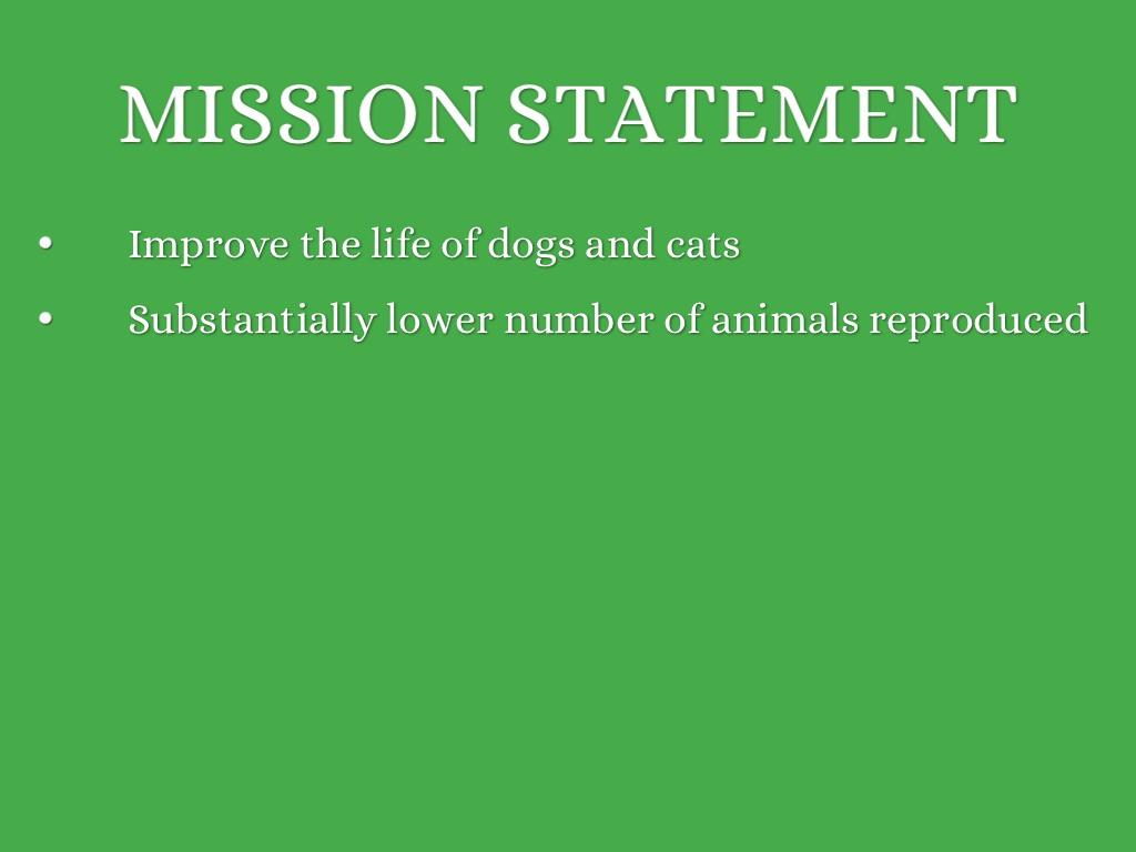 5s mission statement