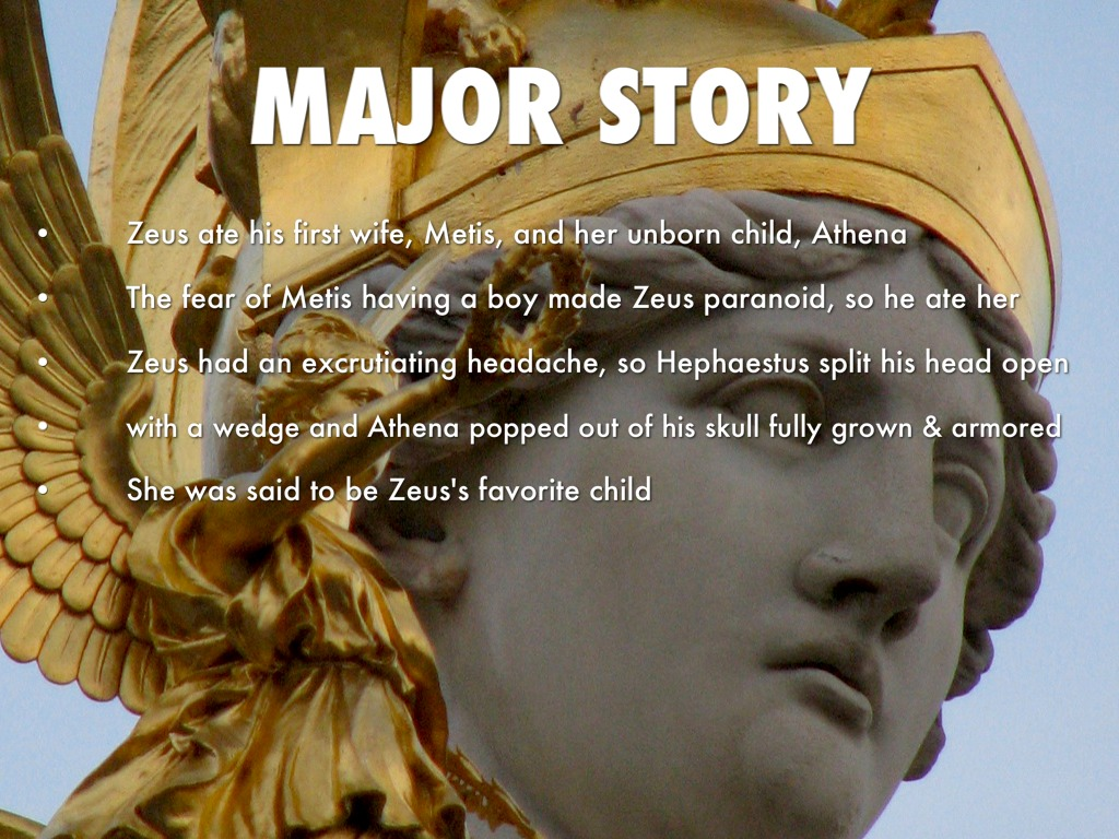 a review in the story of zeus