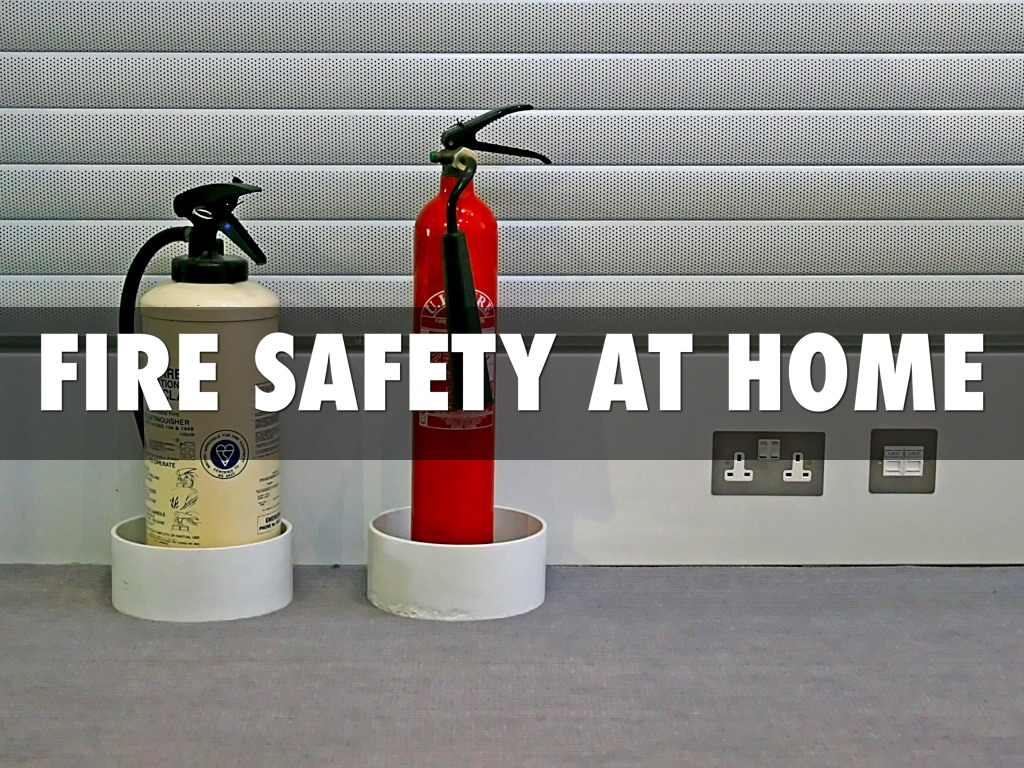 Fire safety at home by kellison kohler for Fire safety house