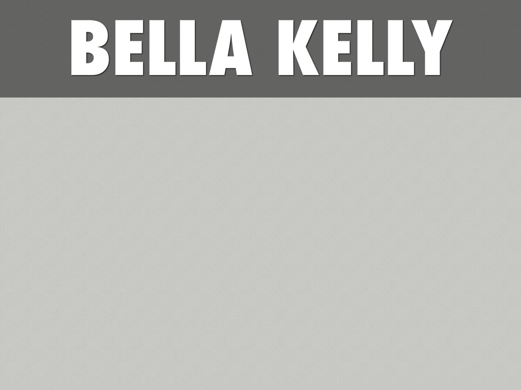 Bella Kelly